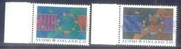 H120- Suomi Finland EUROPA 1991. Space. - Europa-CEPT