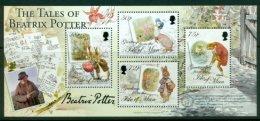 ISLE OF MAN  2006 Mi BL 58** 140th Birthday Of Helen Beatrix Potter - Illustrator [A1597] - Persönlichkeiten