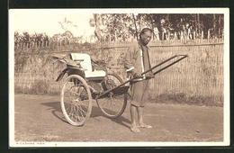 AK Rickshaw Man, Chinese Mit Langem Geflochtenem Zopf - China
