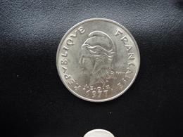POLYNÉSIE FRANÇAISE : 20 FRANCS  1977   KM 9    Non Circulé - French Polynesia