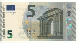 "5 EURO  ""Austria""  DRAGHI    N 014 F5      Serie NA5631692284  /  FDS - UNC - 5 Euro"