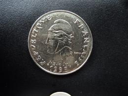 POLYNÉSIE FRANÇAISE : 20 FRANCS  1998   KM 9    Non Circulé - French Polynesia