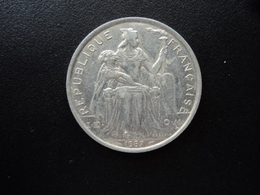 POLYNÉSIE FRANÇAISE : 5 FRANCS  1987   KM 12    SUP * - French Polynesia
