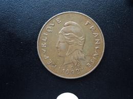 POLYNÉSIE FRANÇAISE : 100 FRANCS  1992   KM 14    SUP 55 - French Polynesia