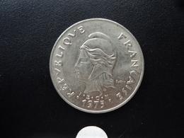 POLYNÉSIE FRANÇAISE : 50 FRANCS  1975   KM 13    SUP + - French Polynesia