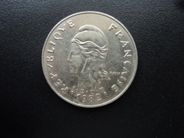 POLYNÉSIE FRANÇAISE : 50 FRANCS  1982   KM 13    SUP + - French Polynesia