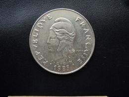 POLYNÉSIE FRANÇAISE : 50 FRANCS  1985   KM 13    SUP - French Polynesia