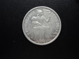 POLYNÉSIE FRANÇAISE : 2 FRANCS  1979   KM 10 / G.31 *    SUP+ - French Polynesia