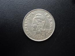 POLYNÉSIE FRANÇAISE : 10 FRANCS  1973   KM 8   TTB - Polynésie Française
