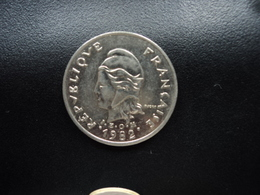 POLYNÉSIE FRANÇAISE : 10 FRANCS  1982   KM 8   SUP - French Polynesia