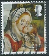 GROSBRITANNIEN GRANDE BRETAGNE GB 2017 VIRGIN MARY WITH CHILD £1.17 DENT FALT SG 4010 - 1952-.... (Elizabeth II)