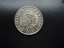 POLYNÉSIE FRANÇAISE : 10 FRANCS  1993    KM 8     SUP+ - French Polynesia