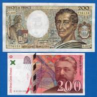 200  Fr  2  Billets - 1992-2000 Last Series
