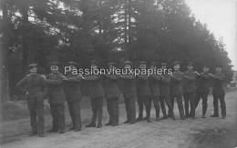 CARTE PHOTO ALLEM. SPA  1918  SERVICE DE TRANSMISSION ALLEMAND DE LA COMMISSION DE CESSEZ LE FEU INTERNATIONALE - Spa