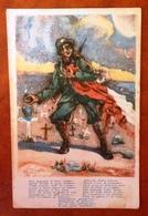 Acquarello Di Gino Coletti, Edizione Riservata All'Associazione Nazionale Fra Gli Arditi D'Italia. - Patriotiques