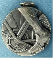 Medaille / Plakette Radsport  -  Ca. 40 Mm Durchmesser - Ohne Zuordnung