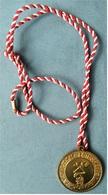 Medaille / Plakette  Landesmeisterschaft Tanzsportverband 1987  -  Ca. 41 Mm Durchmesser - Unclassified