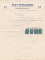 PORTUGAL COMMERCIAL INVOICE - AUTO SUECO - BRAGA - VOLVO - Portugal