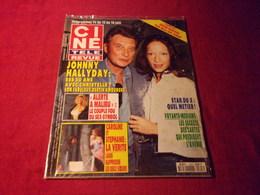 CINE TELE REVUE  No 23 10 JUIN 1993  COUVERTURE JOHNNY HALLYDAY - People