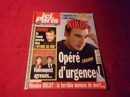 ICI PARIS  No3041  OCTOBRE 2003  COUVERTURE JOHNNY HALLYDAY - People