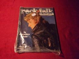 ROCK FOLK No 148 MAI 1979  LA DERNIERE IDOLE   JOHNNY HALLYDAY - People