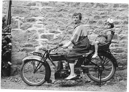 LA BELLE EPOQUE - La Femme En Route Vers Son Émancipation - Femme à La Moto - SAL** - - Motos