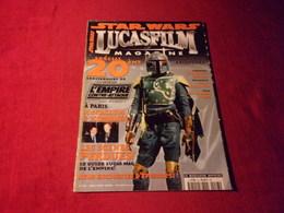 STAR WARS  LUCASFILM  MAGAZINE No 23 MAI / JUIN 2000 - Cinema