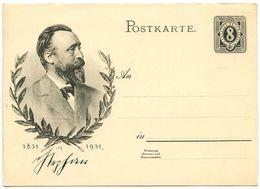 Germany 1931 Mint Dr. Heinrich Von Stephan Postal Card - Entiers Postaux