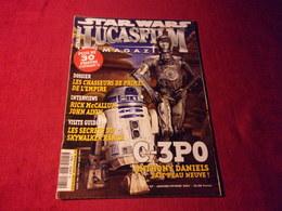 STAR WARS  LUCASFILM  MAGAZINE No 27 JANVIER  FEVRIER 2001 - Cinema