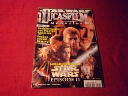 STAR WARS  LUCASFILM  MAGAZINE No 28 MARS AVRIL 2001 - Cinema