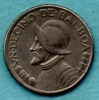 (r65) PANAMA  1/10 Balboa  1983  KM#10a - Panama