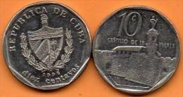 (r65)  CUBA 10 CENTAVOS  1996 - Cuba