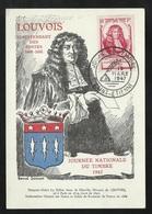 FDC Carte Maximum Premier Jour Saint Etienne Le 15/03/1947 Le N° 779 Journée Du Timbre  TB  Soldé à Moins De 20  % ! ! ! - ....-1949
