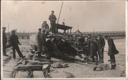 ! Fotokarte Photo, Ostende, 1. Weltkrieg, 1914-1918, Echtfoto, Belgien, Militaria, MILITAIRE - Oostende