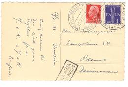 3849 - Pour Le DANEMARK - 1900-44 Victor Emmanuel III