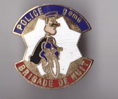 PIN'S   THEME POLICE  BRIGADE DE NUIT - Police