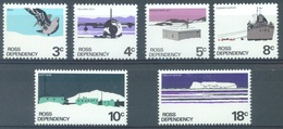 ROSS DEPENDENCY - 1972 - MH/*.  - Yv 9-14 - Lot 17197 - Dépendance De Ross (Nouvelle Zélande)