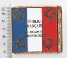 DRAPEAU 57° REGIMENT DE TRANSMISSIONS - Bandiere