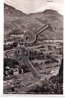 BOLZANO PANORAMA E FERROVIA DEL RENON  VIAGGIATA 1942 - Bolzano