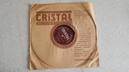 DISQUE 78T   CRISTAL  POETE ET PAYSAN EXECUTE PAR ORCHESTRE IWAN CAMPOS - 78 Rpm - Gramophone Records