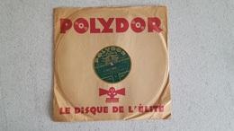 DISQUE 78T   POLYDOR LE GRAND MOGOL - 78 Rpm - Gramophone Records
