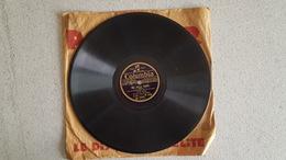 DISQUE 78T   COLUMBIA TINO ROSSI MIA BELLA NAPOLI ET SERENADE PORTUGAISE - 78 T - Disques Pour Gramophone