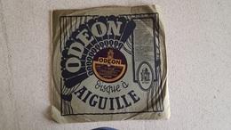 DISQUE 78T   ODEON LES CENT VIERGES ET IL BACIO PAR LE GRAND ORCHESTRE ODEON - 78 Rpm - Gramophone Records