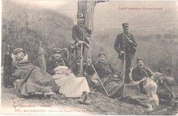 FR66 LA CERDAGNE - Labouche 503 - Douaniers Français En Embuscade - Animée - Belle - Autres Communes