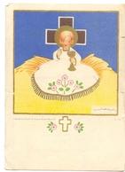 Devotie - Devotion - Communie Communion - Maryse Wittemans - Coq Sur Mer - De Haan 1945 - Communion