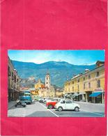 SUSA - ITALIE - Piazza IV Novembre - Fiat 500 1er Plan - 474/SAL - - Andere Städte