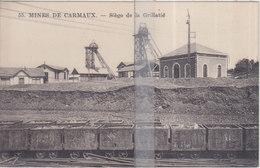 CPA MINES DE CARMAUX  SIEGE DE LA GRILLATIE - Carmaux