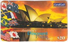 AUSTRALIA B-463 Prepaid CardCall - Landmark, Opera House, Sidney - Sample - Australia