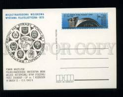 273774 POLAND 1973 Year Philatelic Exhibition Postal Card - Stamped Stationery