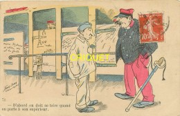 Illustrateur Sager, Série Militaria, D'abord On Doit Se Taire.... - Sager, Xavier